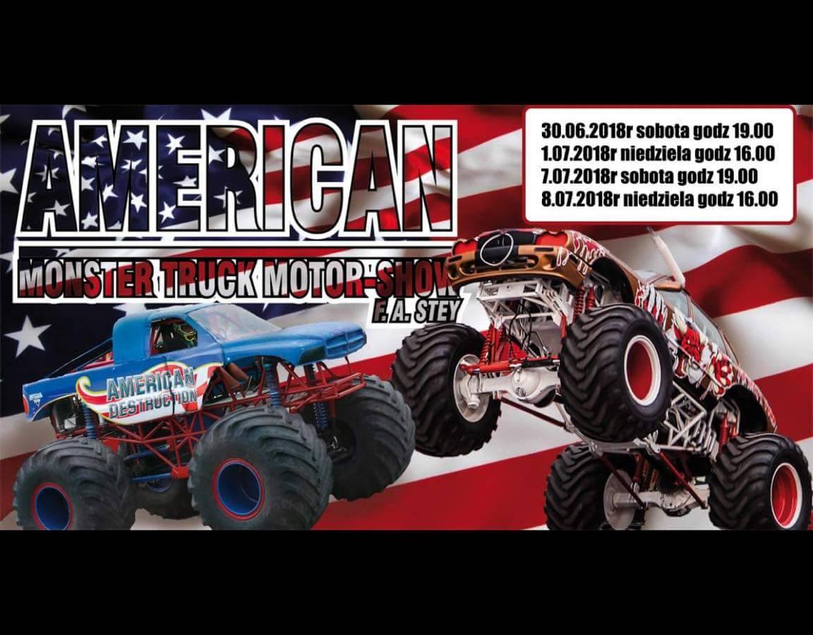 American Monster Truck Motor Show 2018 w Szczecinie