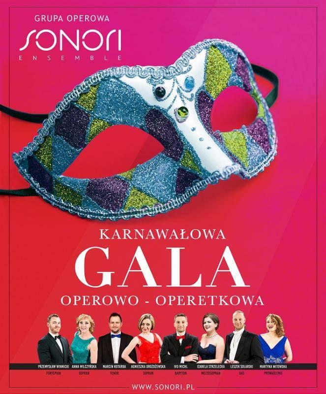 Karnawałowa Gala Operowo-Operetkowa w Świdnicy