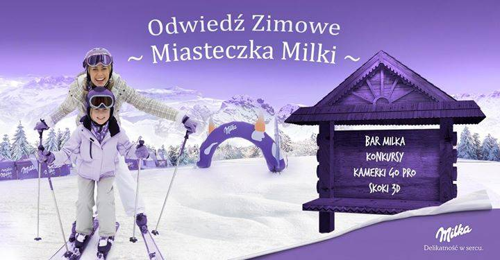 Zimowe Miasteczko Milka: Zieleniec