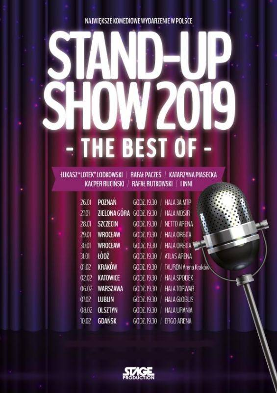 STAND-UP SHOW 2019 - The Best of - Poznań
