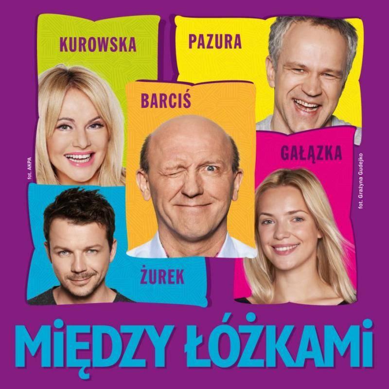 """Spektakl """"Między łóżkami"""" w Andrychowie"""