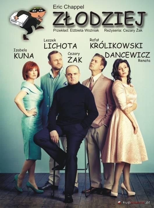 """Spektakl """"Złodziej"""" w Olsztynie"""