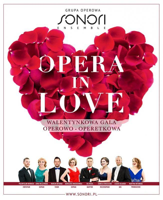 Opera in Love. Walentynkowa Gala Operowo-Operetkowa w Słupsku