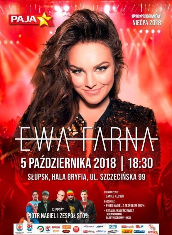 Koncert Ewy Farnej w Słupsku