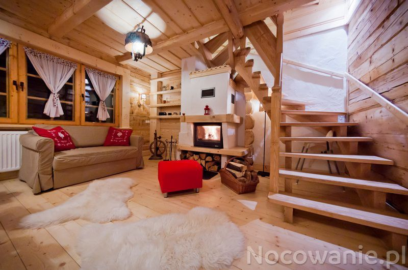 teenage attic bedroom ideas - Tatra House domki z kominkiem Zakopane Tatra House