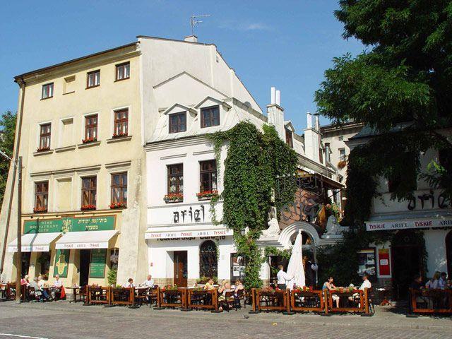 Restauracja żydowska Ariel Kraków W Krakowie