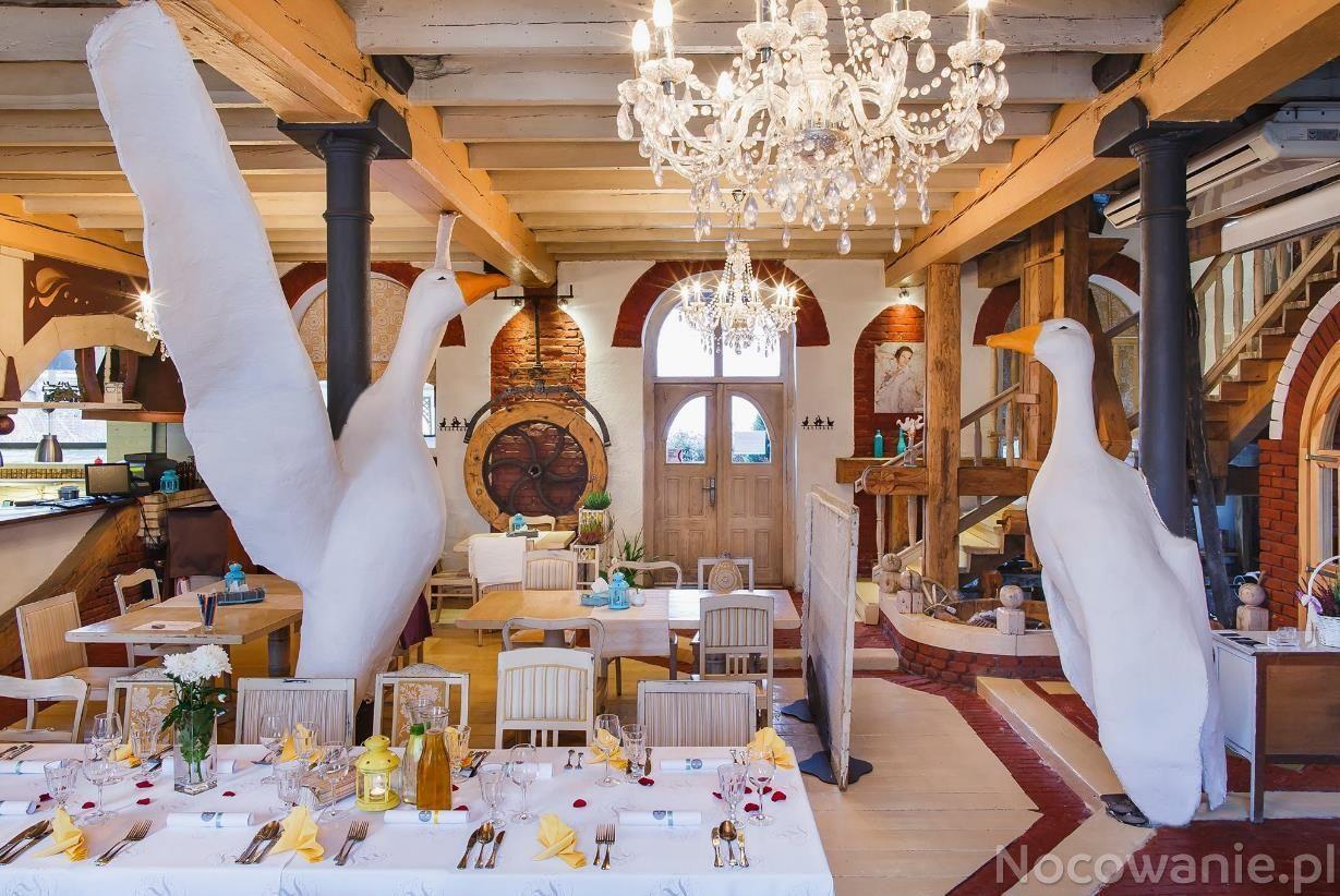 Restauracja Gęsi Puch łódź W łodzi
