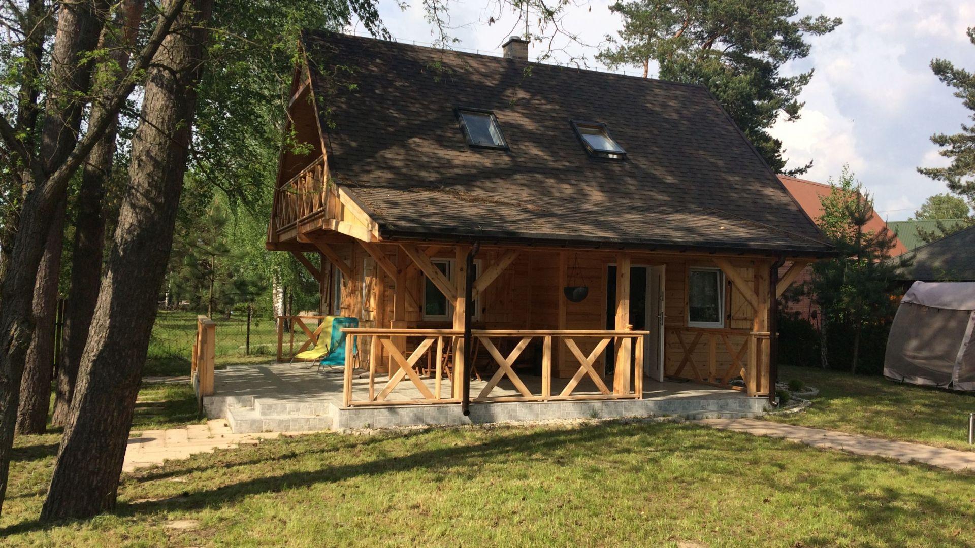 Topnotch luksusowy domek letniskowy Okuninka / Jezioro Białe, luksusowy WG32