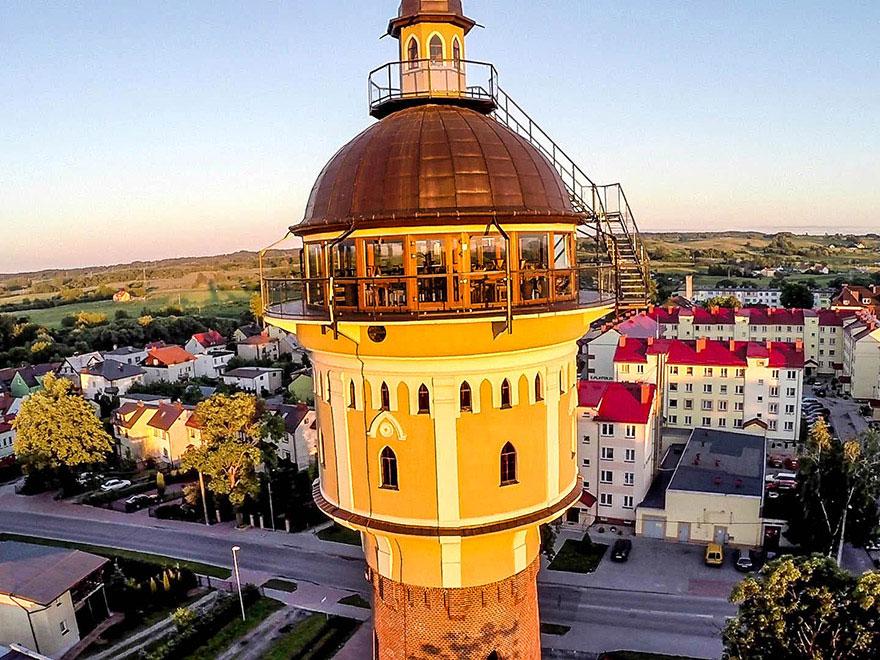 Wieża ciśnień w Gołdapi