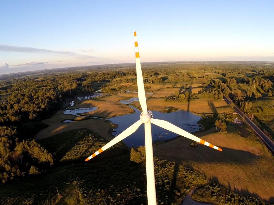 Elektrownia wiatrowa na Mazurach