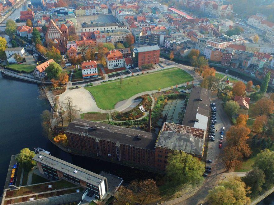 Wyspa Młyńska w Bydgoszczy