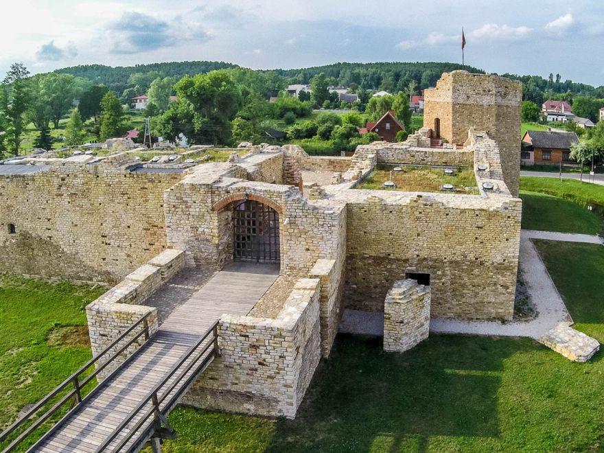 Zamek Inowłódz