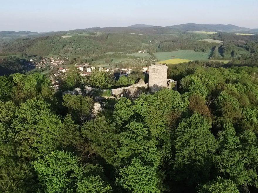 Zamek Wleński Gródek