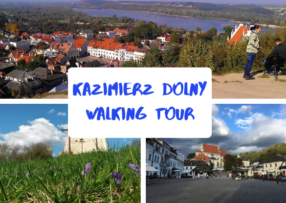 English! Walking tour around Kazimierz Dolny