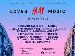 H&M Loves Music w Warszawie: BEDOES, SOLAR / PLANBE
