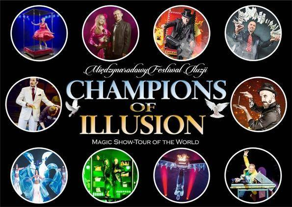 Wakacyjne Magic Show - Champions of Illusion 2019 w amfiteatrze w Rewalu