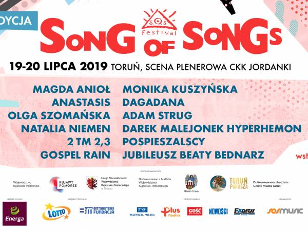 Song Of Songs Festival 2019 w Toruniu