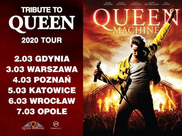 Tribute to Queen - Queen Machine w Hali Arena w Gdyni