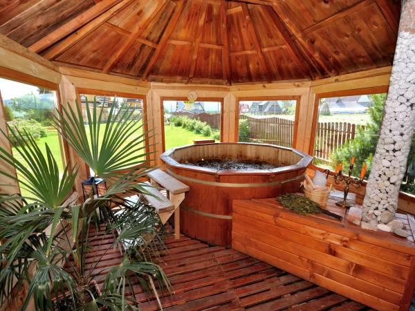 Guesthouse Topór - HOT TUBE, fire place, RELAX