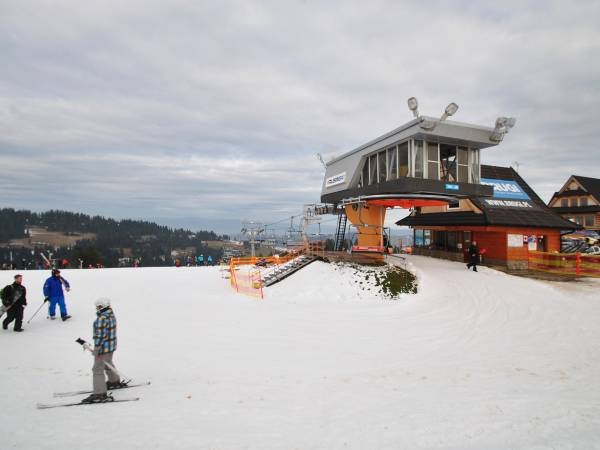 Die Rusin-Ski Skistation