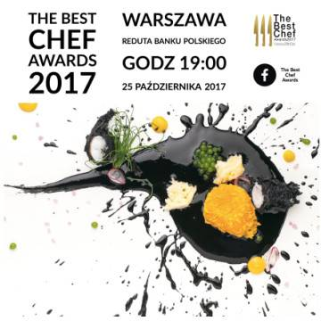 The Best Chef Awards 2017 w Warszawie