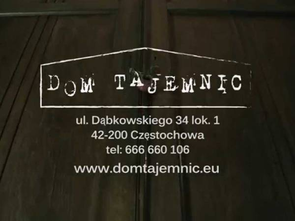 Dom Tajemnic - escape room