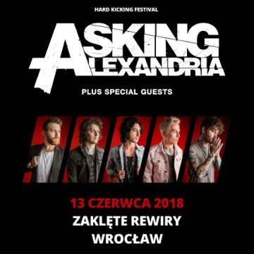 Hard Kicking Fest vol. 2 we Wrocławiu: Asking Alexandria