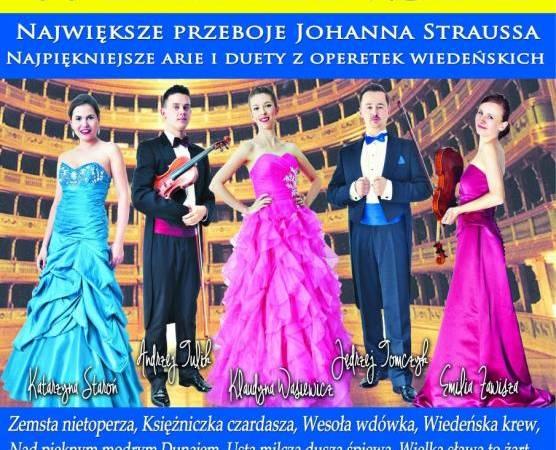 Koncert Wiedeński w Kinie na Starówce w Żorach