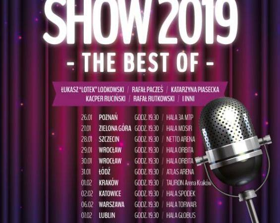 STAND-UP SHOW 2019 - The Best of -  Warszawa